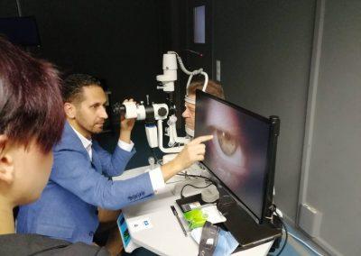 Κλινικό φροντιστήριο _ τεχνικές σχισμοειδούς λυχνίας & Volk 1